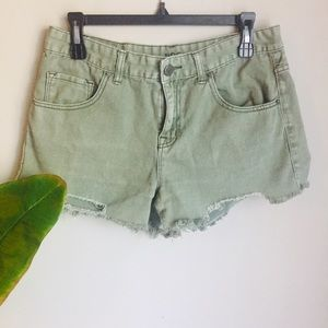 Urban Outfitters BDG Distressed Freja Jean shorts
